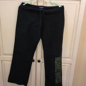 University of Oregon sweatpants